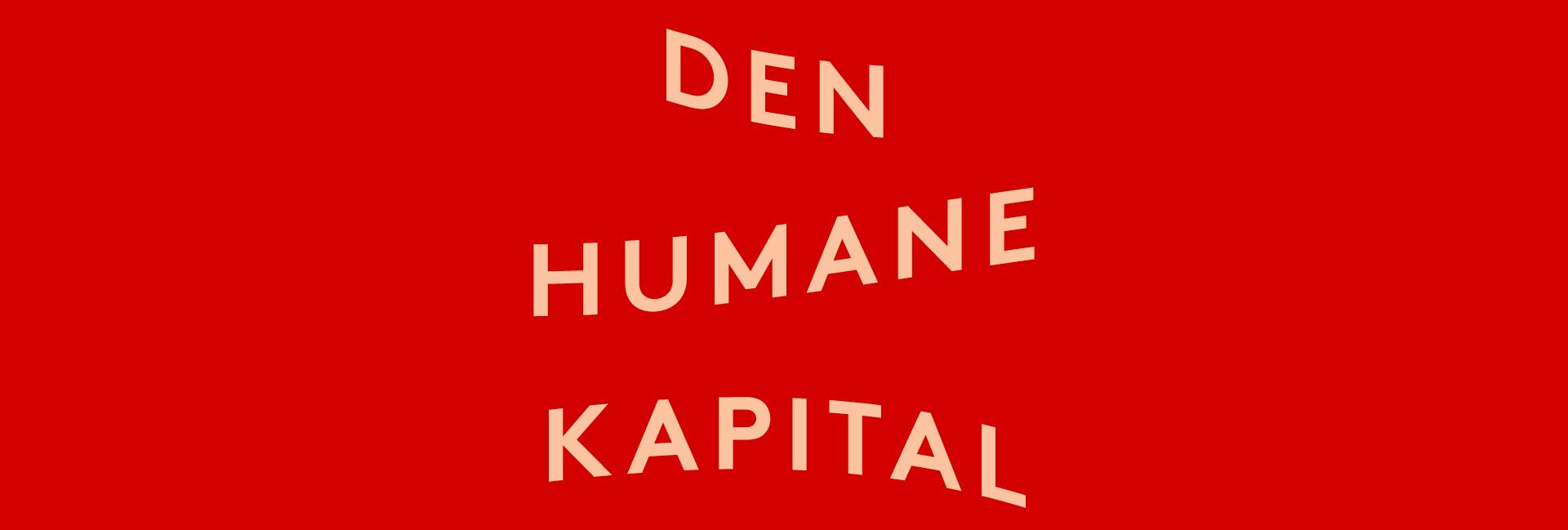Den humane kapital